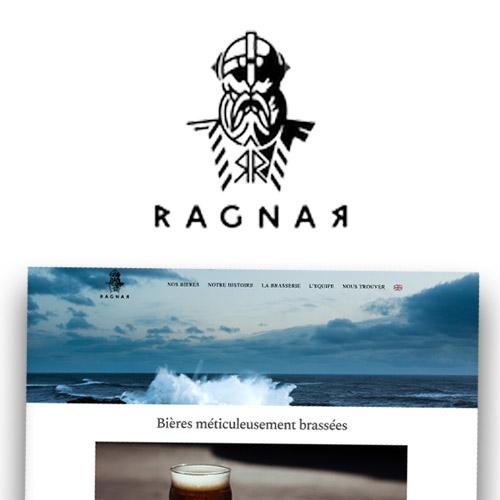 Brasserie Ragnar réalisation web